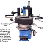desmontadora automática de pneu