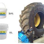 Pasta monta pneu