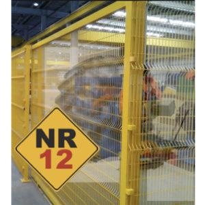 Estação de montagem de pneu adequada NR12