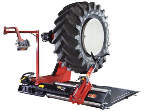 Desmontadora pneus gigantes